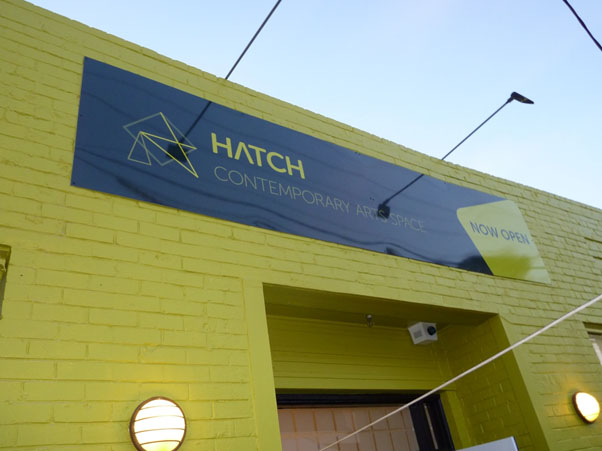 The Hatch Contemporary Art Space in Ivanhoe Pde, Ivanhoe