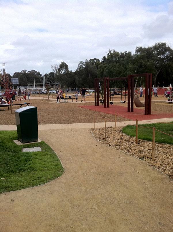 Playground built